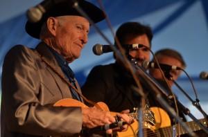 Jesse McReynolds at the 2012 Richmond Folk Festival - Photo by Pat Jarrett/The Virginia Folklife Program