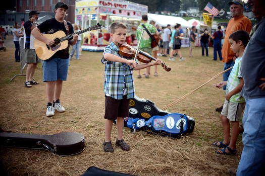 Galax Old Time Fiddlers Convention 2013