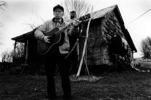 Master of Appalachian song, Spencer Moore. Photo by Morgan Miller/Virginia Folklife Program.