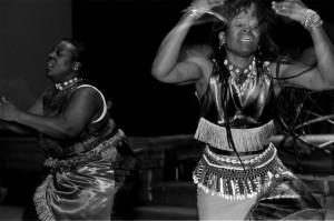 Monica James and Ofosuwa Abiola-Tamba. Photo by Morgan Miller/Virginia Folklife Program.