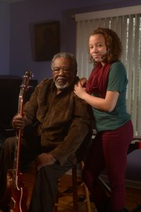 Singer Whitney Nelson is apprenticing under Sherman Holmes of the Holmes Brothers to learn more about blues and gospel singing. Photo by Pat Jarrett/Virginia Folklife Program