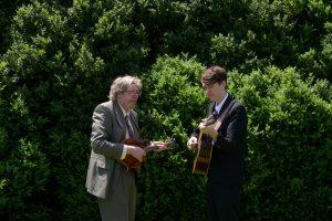 David and Mason Via (photo by Pat Jarrett/Virginia Folklife Program)
