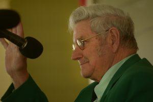 Reverend Frank Newsom (photo by Pat Jarrett/Virginia Folklife Program)