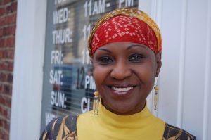 Chef Ida MaMusu (photo by Sara Wood, Southern Foodways Alliance)