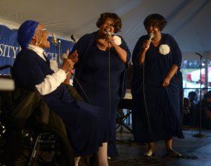 The Legendary Ingramettes (photo by Pat Jarrett/Virginia Folklife Program)
