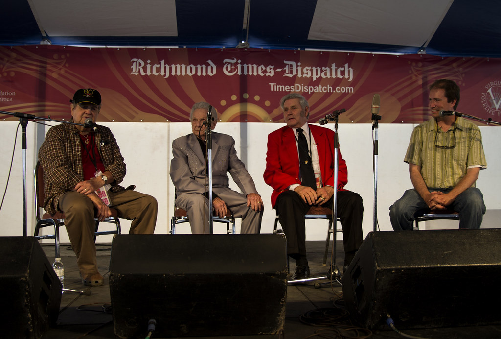 Joe Wilson, Ralph Stanley, Frank Newsome and Jon Lohman